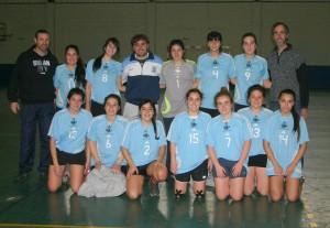 Equipo de handball juveniles de Chacabuco.