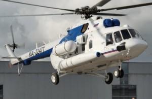 Helicóptero MI-171 E pesado multipropósito de origen ruso que cumplirán funciones en la Antártida Argentina.