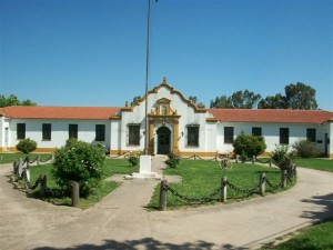 Frente del hospital Tomás Keating de Castilla.