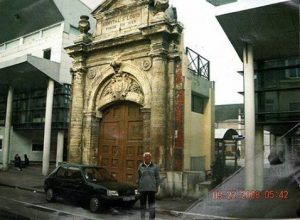 Fachada Hospital San Luis de Boulogne-Sur-Mer, Francia, dónde el Granadero Rabuffi pasó sus últimos días en 1909.
