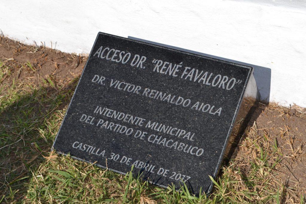 Acceso René Favaloro.