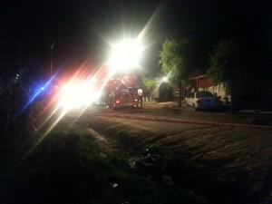 Cinco personas fallecieron en incendio de una vivienda en Cap. Sarmiento.