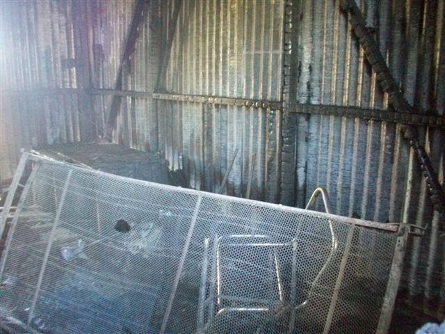 Otra imagen del interior de la casilla.