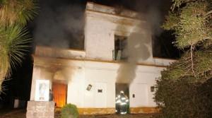 Incendio en El Fogón. Las pérdidas son totales.