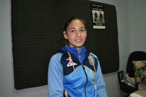 Irina Rodríguez otra vez en los Juegos BA 2014.
