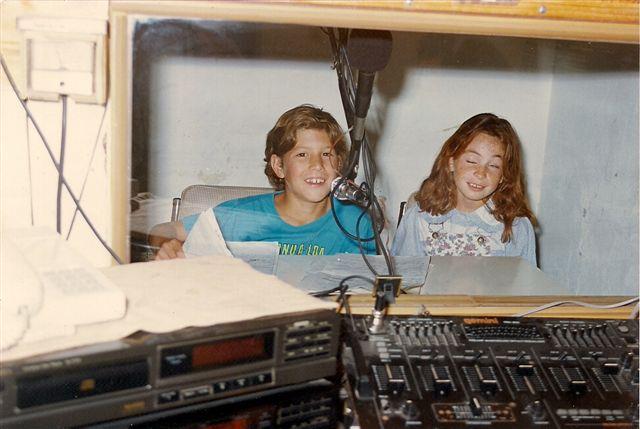 Otra imagen de Anahí y Joaquín.