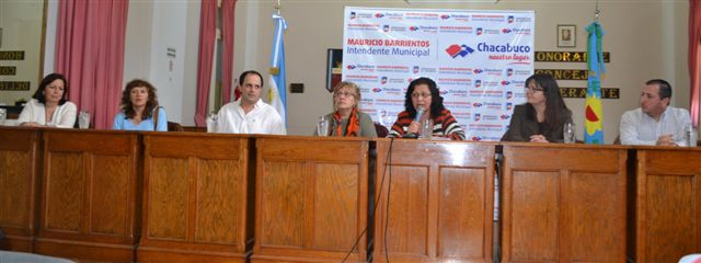 Jornada Educativa en Chacabuco.