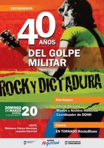 40º aniversario del Golpe de Estado
