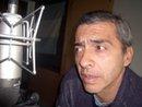 José Montenegro en un estudio de Radio. Foto de facebook.
