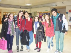 Jóvenes de Chacabuco en Pergamino.