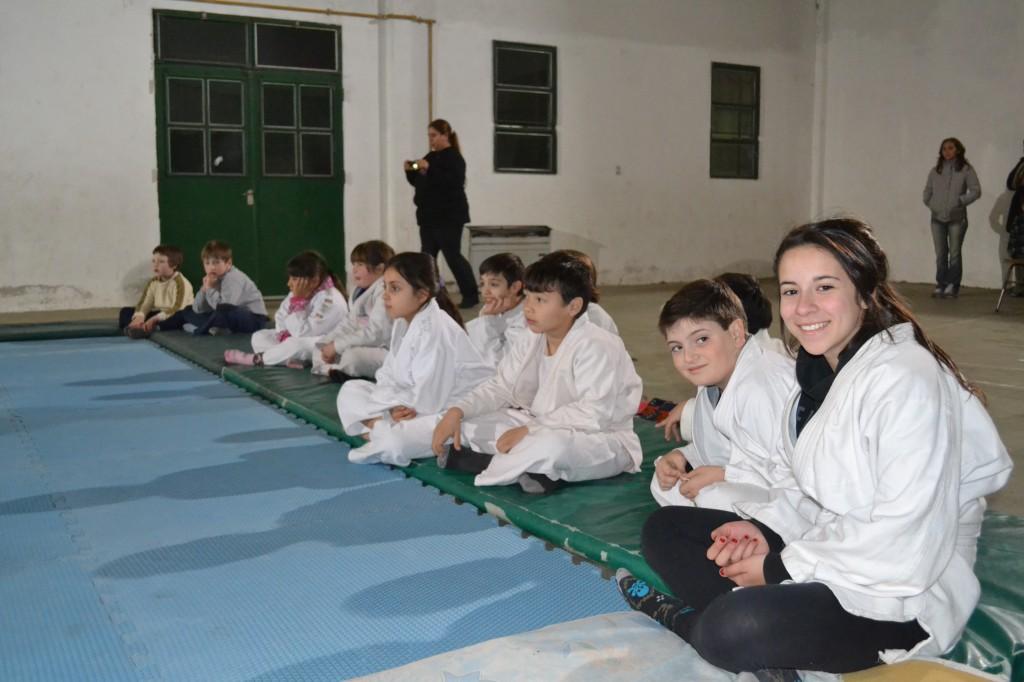 Alumnos del Instituto de Judo Shiira de Chacabuco.