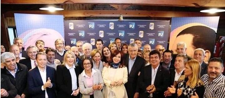 Julián Domínguez en la cumbre del PJ