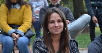 Julieta Garello en Rawson