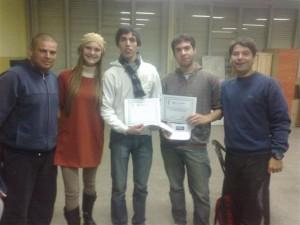 Braian Grippa y Patricio Rozza ganadores de truco.