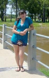 Karem Campos, asesinada anoche en Junín en ocasión de robo.
