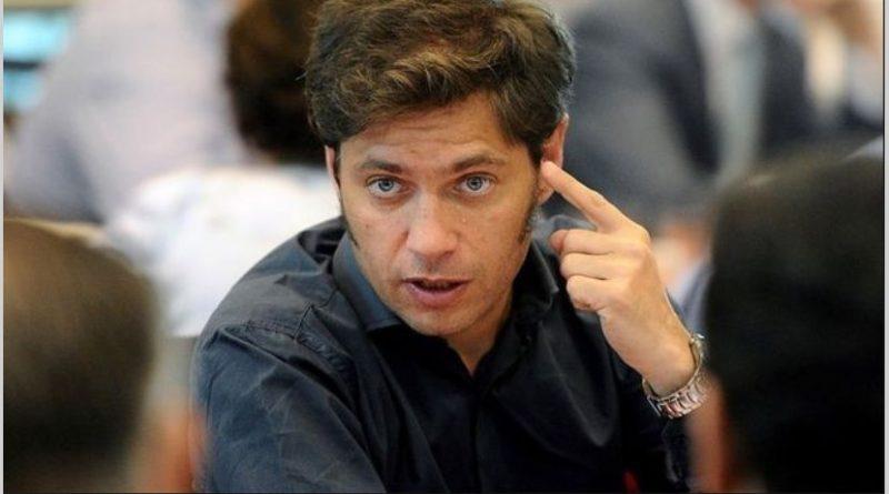 Axel Kicillof.