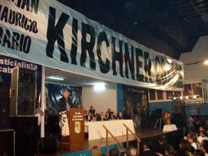 Néstor Kirchner.