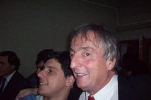 Néstor Kirchner en Chacabuco, en su visita del año 2009.