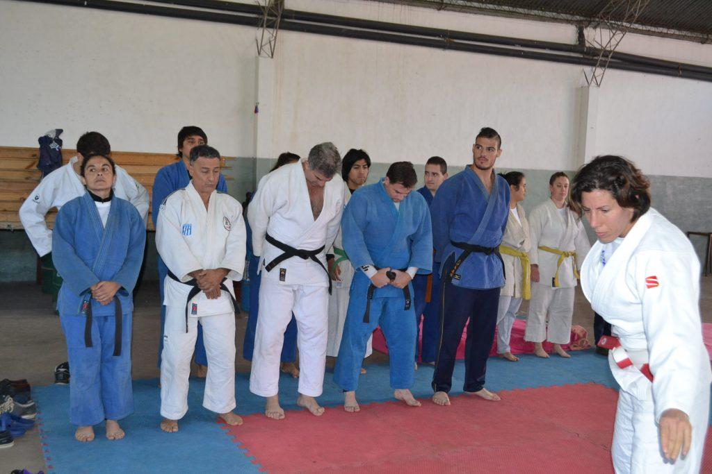 Krukower iniciando el entrenamiento en Rawson.