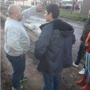 Martin Carnaghi en el Barrio La Amistad
