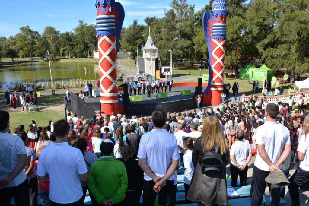 Lanzamiento de los Juegos Bonaerenses 2019