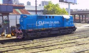 Esta es la locomotora que empezará a recorrer el trayecto entre Junín-Retiro.