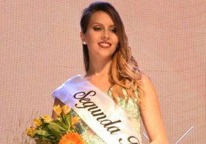 Lucía Diez, de Rawson, fue elegida 2º Princesa de la Fiesta.