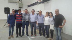 Docentes del Frente para la Victoria participaron en una jornada del Instituto Patria en Pehuajó.