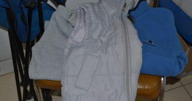 La ropa encontrada en avenida Vieytes