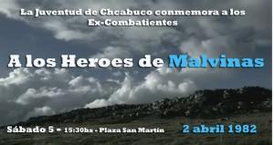 Acto por Malvinas en Chacabuco.