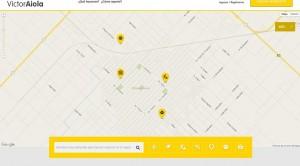 Mapa interactivo.