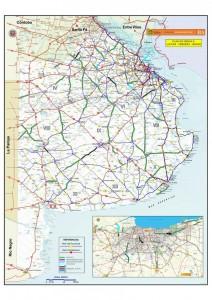 La Provincia licitará más de 40 obras viales entre febrero y marzo.