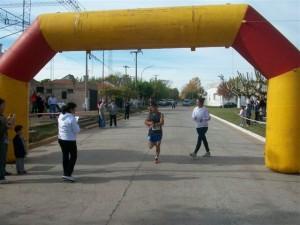 Aldano Mandaglio de Mercedes ganó en 5 kilómetros.