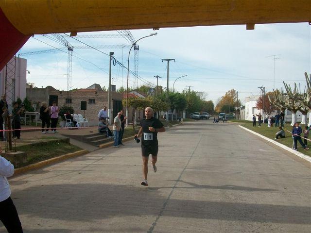 Excelente performance tuvo Guillermo Talento. Sexto lugar en 5 kilómetros.