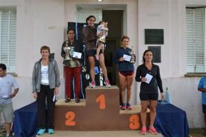 María Aguilar triunfó en damas.