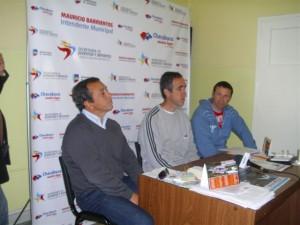 """Lanzamiento de la Maratón en Chacabuco de la maratón """"Todos x Todo""""."""