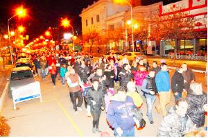 Marcha y cacerolazo en Chacabuco contra el Gobierno de Macri
