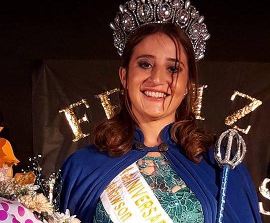 Marianela Barranco, Reina del 133º Aniversario de Rawson.