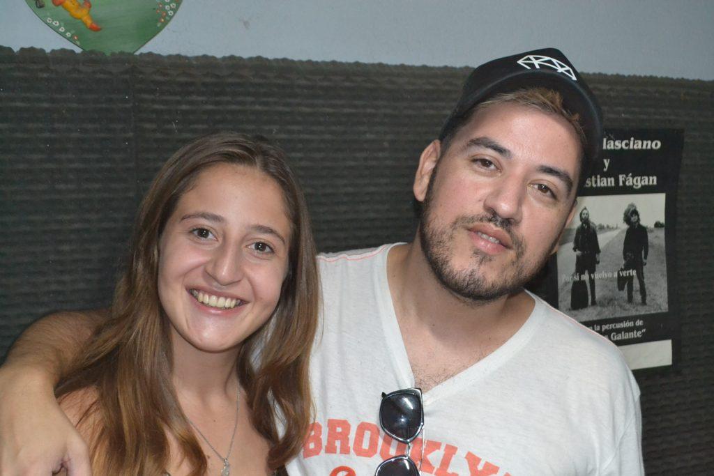 Marianela Barranco y Marcelo Quintana