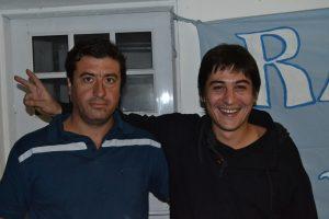 Kevin Ceballos y Martín Carnaghi.