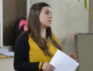 Martina Alí, directora de Juventud.