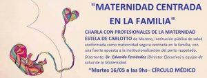 Charla debate: Maternidad centrada en la familia