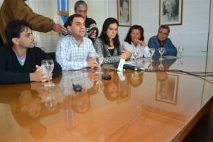 """Presentación de las actividades por el """"Mes de Haroldo Conti"""" en Chacabuco."""