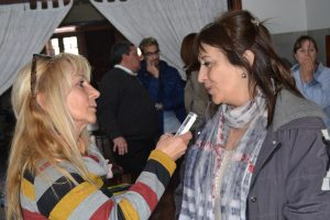 Mirta Tundis entrevistada por Mónica del Castillo.