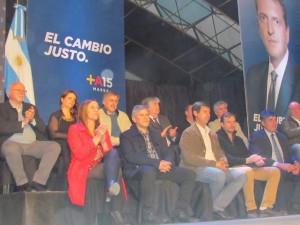 Massa presentó oficialmente a Moro como candidato a intendente.