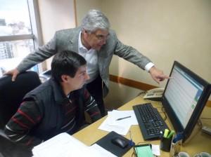Moro se reunió con el Diputado Nacional Gilberto Alegre.