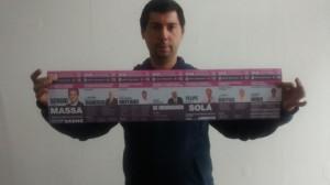 Moro pide votar con la boleta completa.