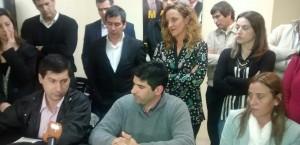 Moro en el lanzamiento del Bloque de concejales del FR de Bragado.