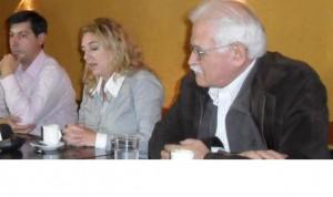 De izquierda a derecha: Moro; Rucci y Pignanelli.