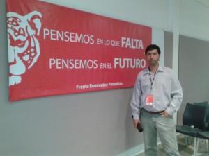 Hugo Moro participó del primer encuentro de profesionales y técnicos de Sergio Massa.